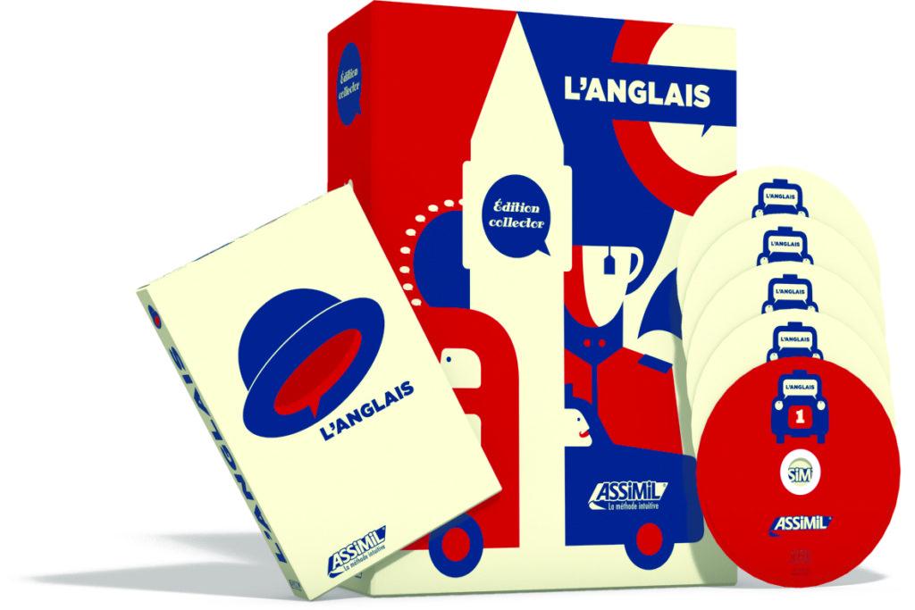 L'anglais en édition collector  pour les 85 ans d'Assimil