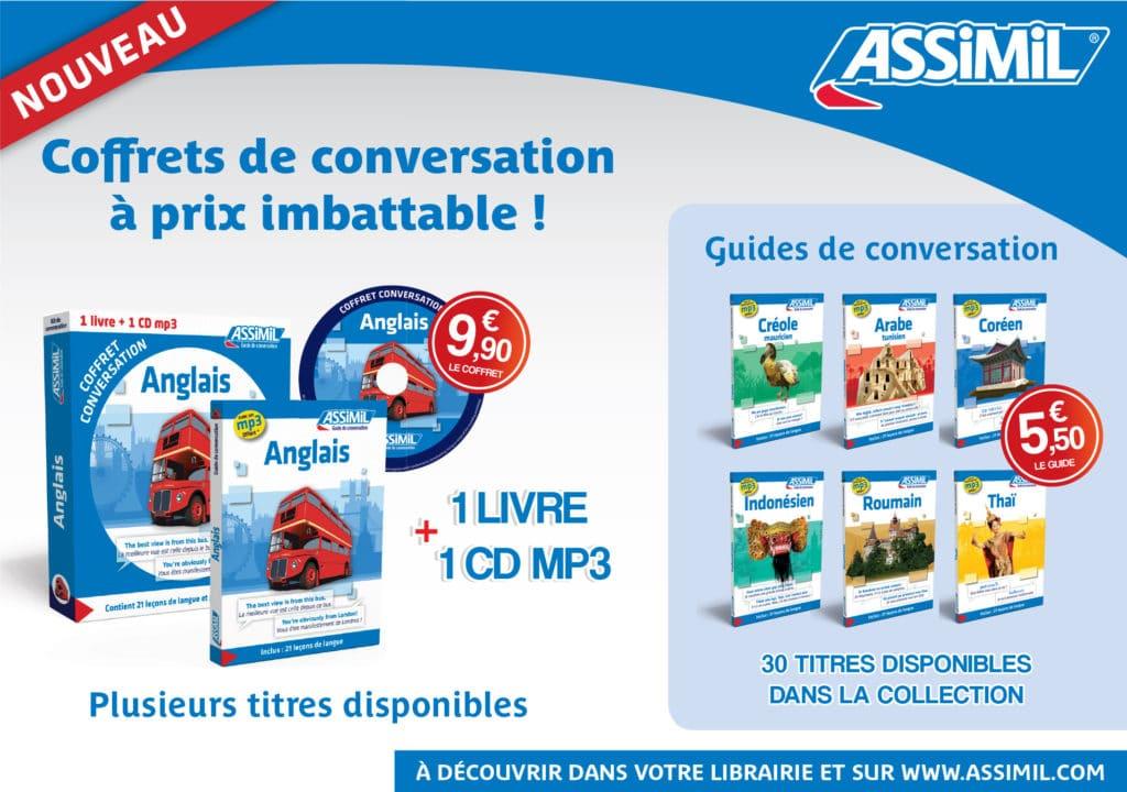 Nouveau : les coffrets de conversation livre + CD