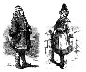 Gravure de Same - 19e siècle