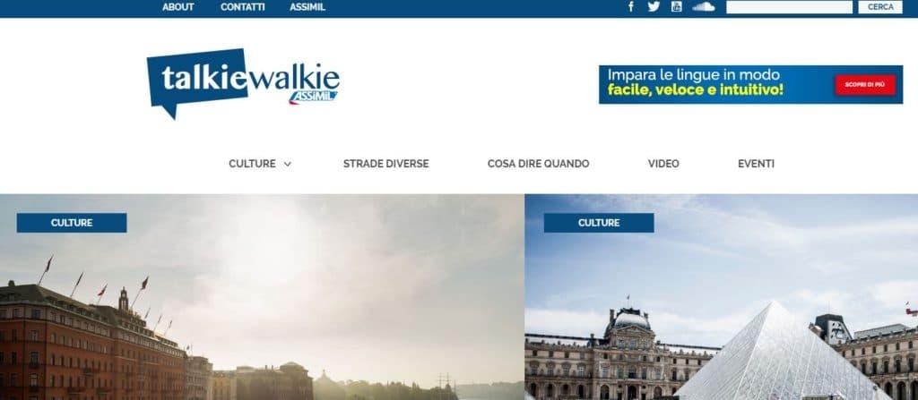 Le blog d'Assimil Italia est en ligne