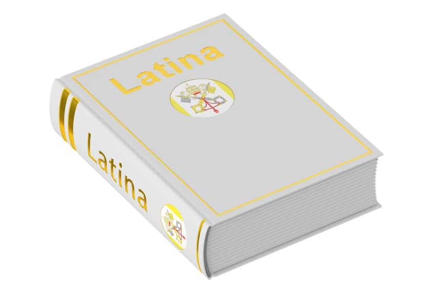 Les langues du Vatican :  2. le cas du latin