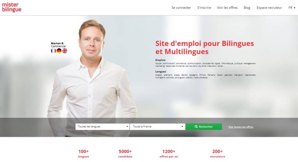 Mister Bilingue :  entretien avec Ludovic Martin