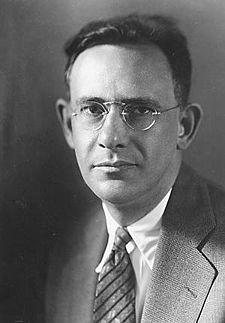 Portrait of linguist Edward Sapir