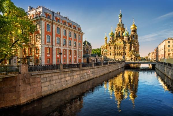 Vue de Saint-Petersbourg