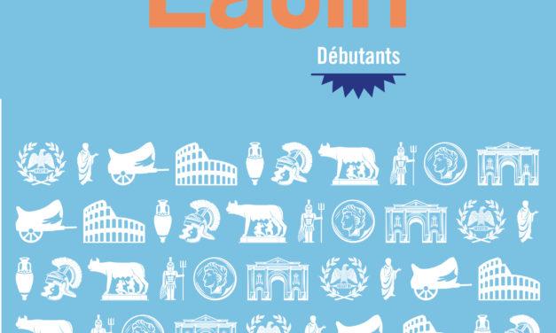 Présentation du cahier d'exercices de latin à la librairie De Natura Rerum