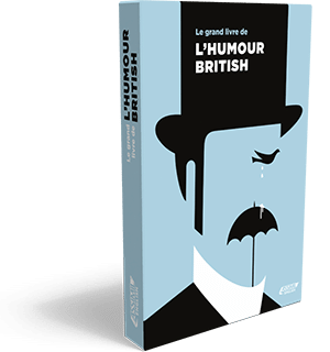 Couverture du Grand livre de l'humour british - 3D