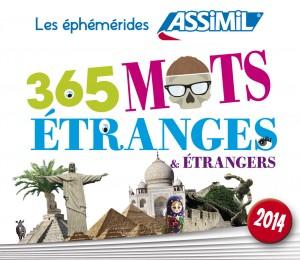 Couverture de 365 mots étranges et étrangers 2014