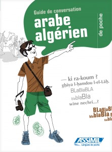 Couverture de l'arabe algérien (collection langues de poche, Assimil)