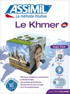 Couverture du khmer aux editions Assimil