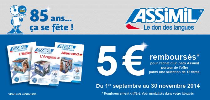 Opération Assimil -5€