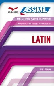 Dictionnaire Latin-francais Assimil couv