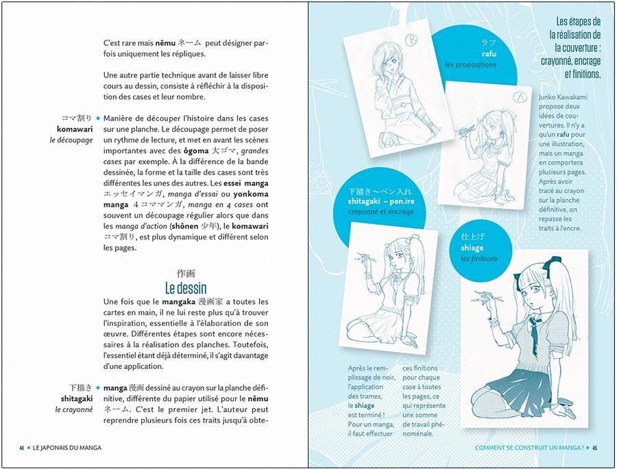 Les étapes du dessin de manga - Ed. Assimil