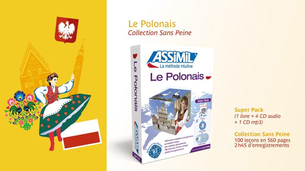 Affiche Polonais Assimil Salon du Livre 2015