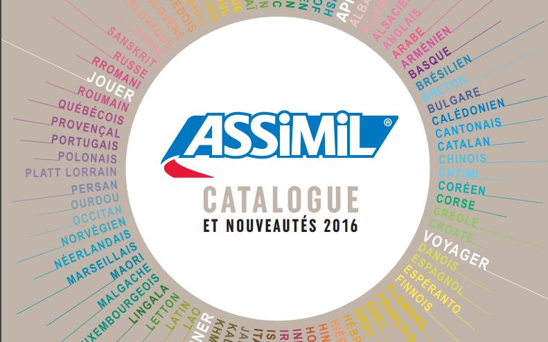 Le catalogue Assimil 2016 est en ligne