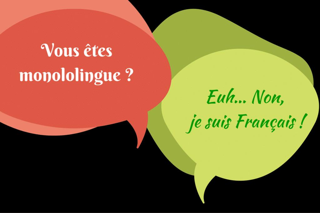 francais monolingue