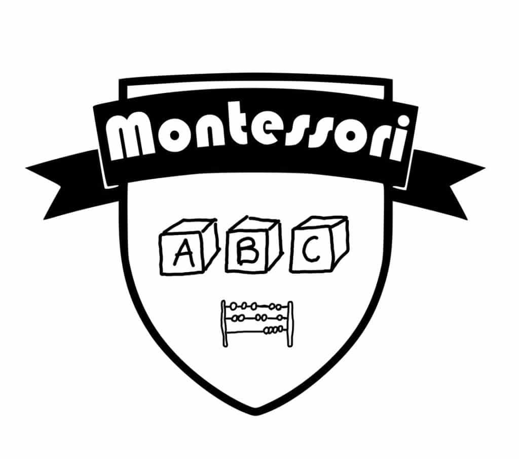 Retro tags for Montessori education and method.