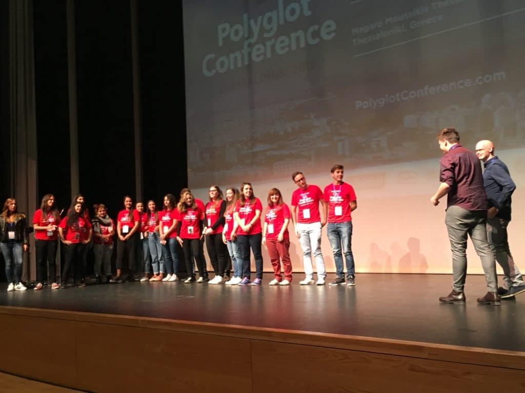 la Polyglot Conference  de Thessalonique à Reykjavik