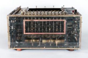 """Machine à traduire électromécanique dite """"le cerveau mécanique"""", 1933-1935 Georges Artsrouni, 1893-1960, ingénieur inventeur Exposition universelle 1937"""