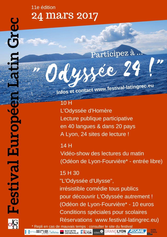 Le Festival Européen  Latin Grec 2017